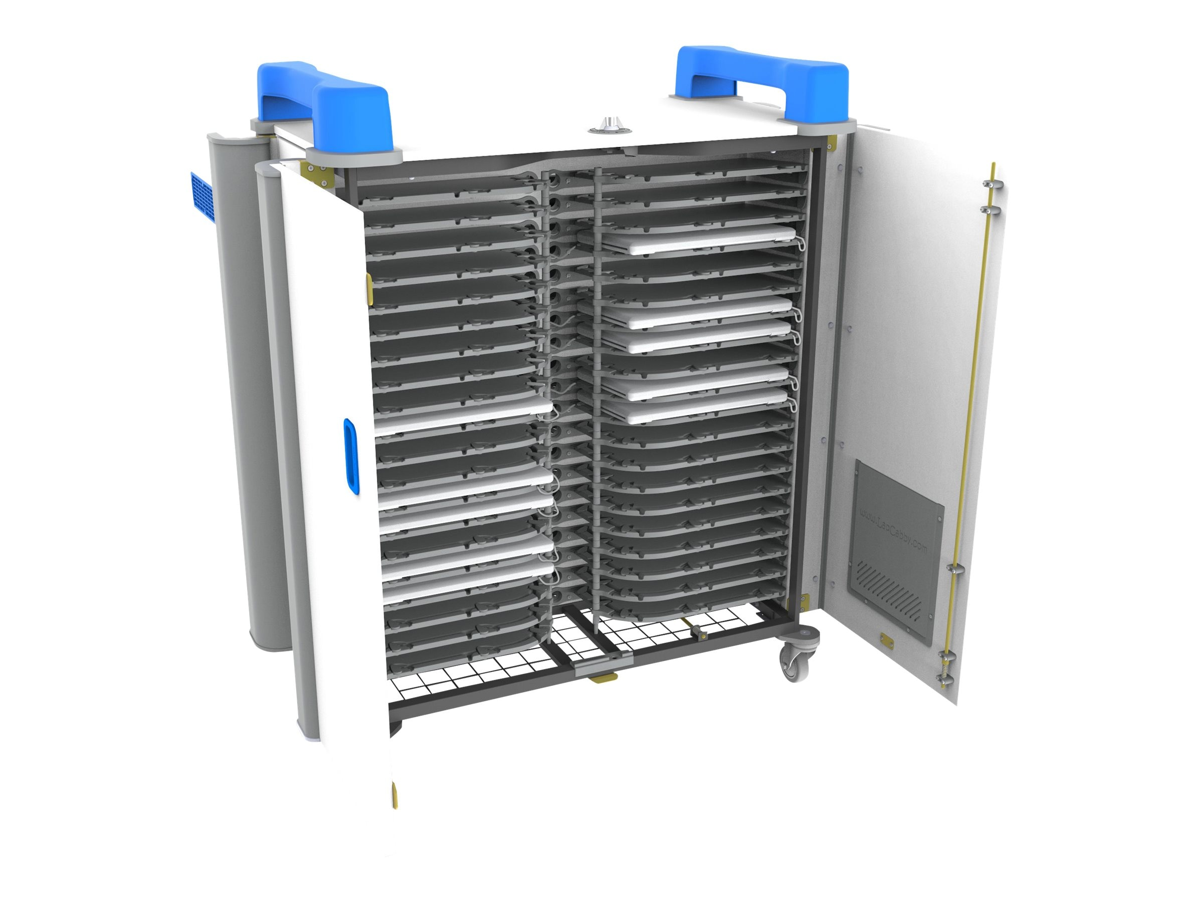 LapCabby 40-Unit UniCabby 40H Chromebook, Tablet, iPad, Laptop Store and Charge Cart