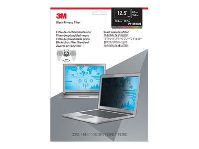 3M 12.5 16:9 Widescreen Laptop Privacy Filter, PF125W9B