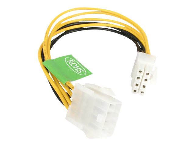 StarTech.com 8-Pin Power Extension Cable, 8, EPS8EXT