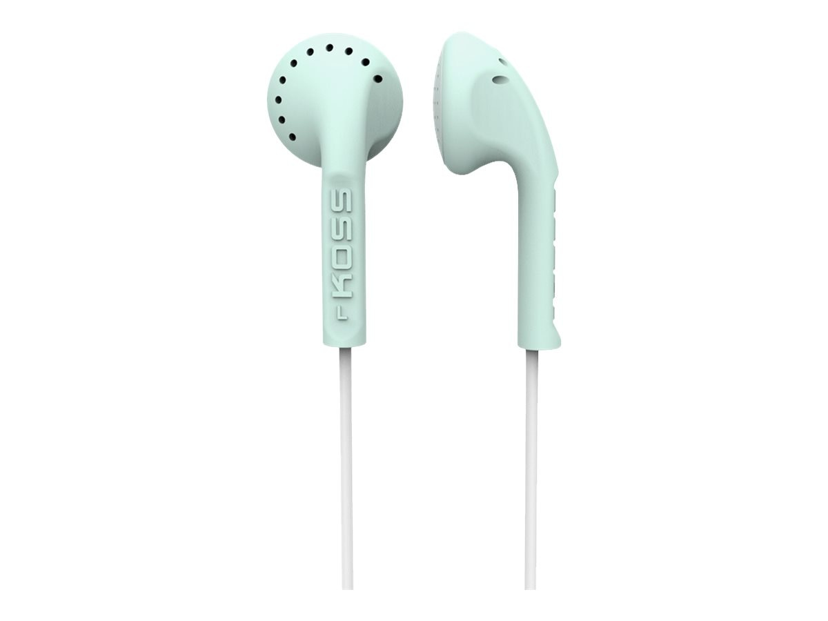 Koss Scalped Stereo Earbuds, Mint