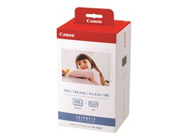 Canon KP-108IN Ink & Paper Set for CP Series, 3115B001, 8991478, Paper, Labels & Other Print Media