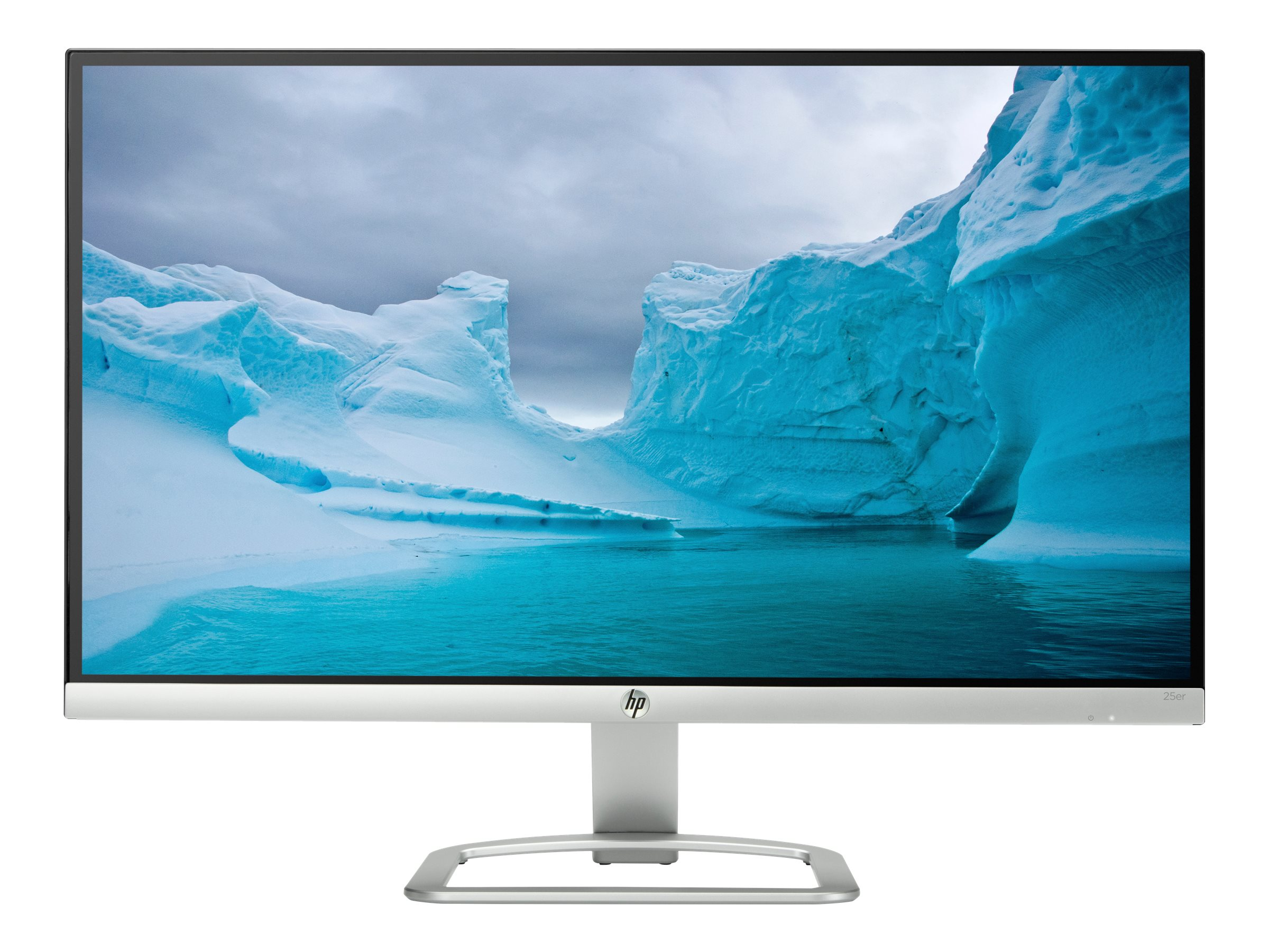 HP 25 25ER Full HD LED-LCD Monitor, White, T3M84AA#ABA