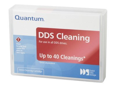 Quantum DDS Cleaning Cartridge, Single Pack, CDMCL, 5075280, Tape Drive Cartridges & Accessories