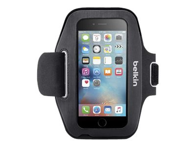 Belkin Sport-Fit Armband for iPhone 6, Blacktop Overcast, F8W500-C00