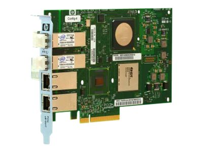 HPE PCIe 2-Port 4GB FC 2-Port 1000Base-T Adapter, AD222A, 31461774, Network Adapters & NICs