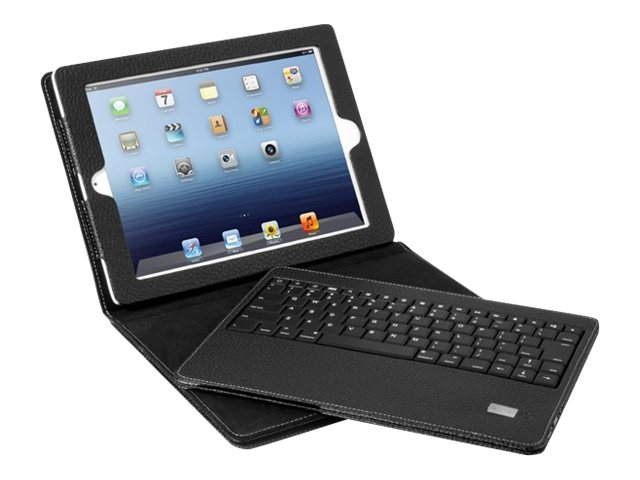 Aluratek BT Folio Case w  Removeable Keyboard for iPad 1 & Later, ABTK01F, 31196114, Keyboards & Keypads