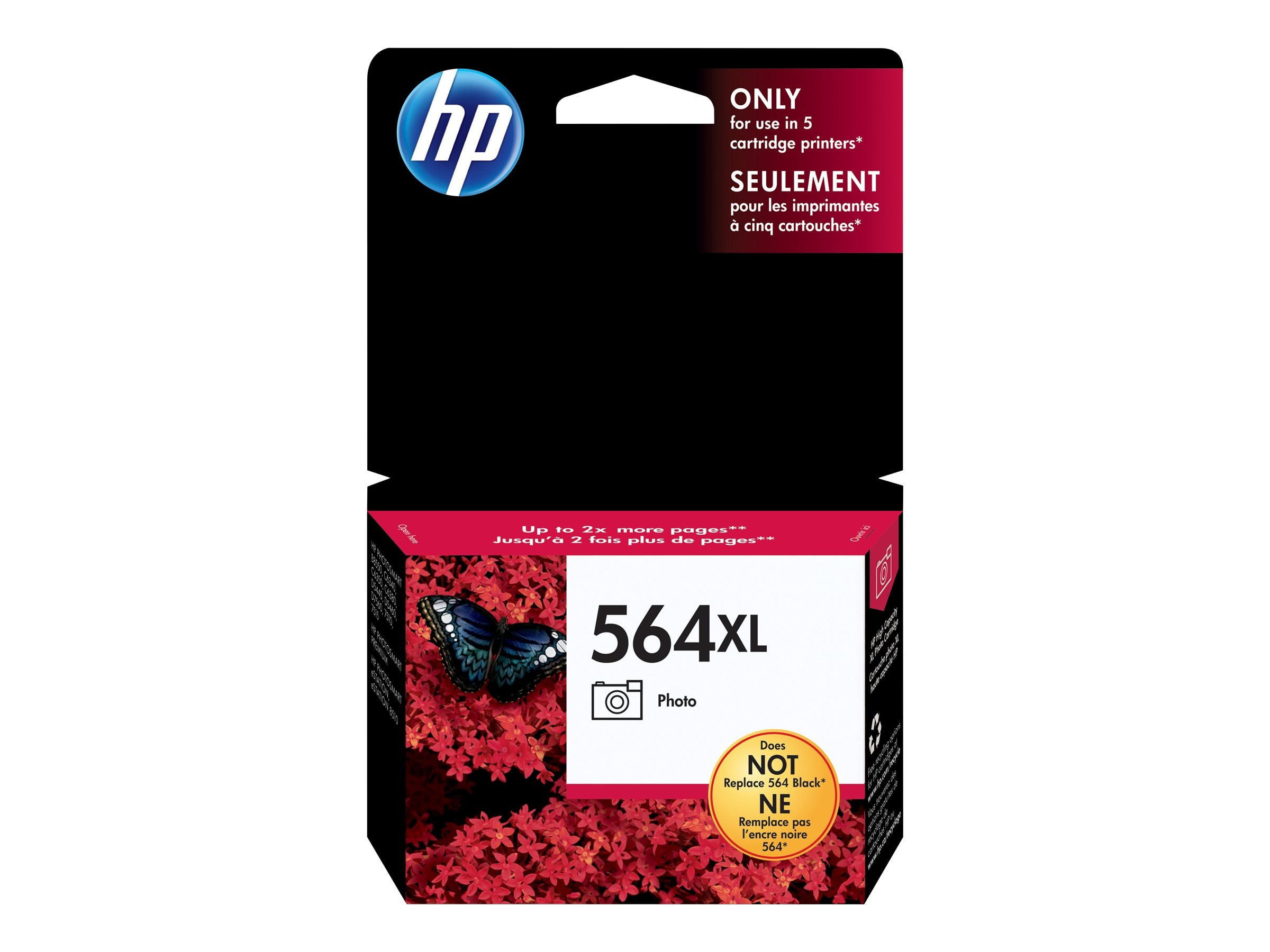 HP 564XL (CB322WN) High Yield Photo Original Ink Cartridge