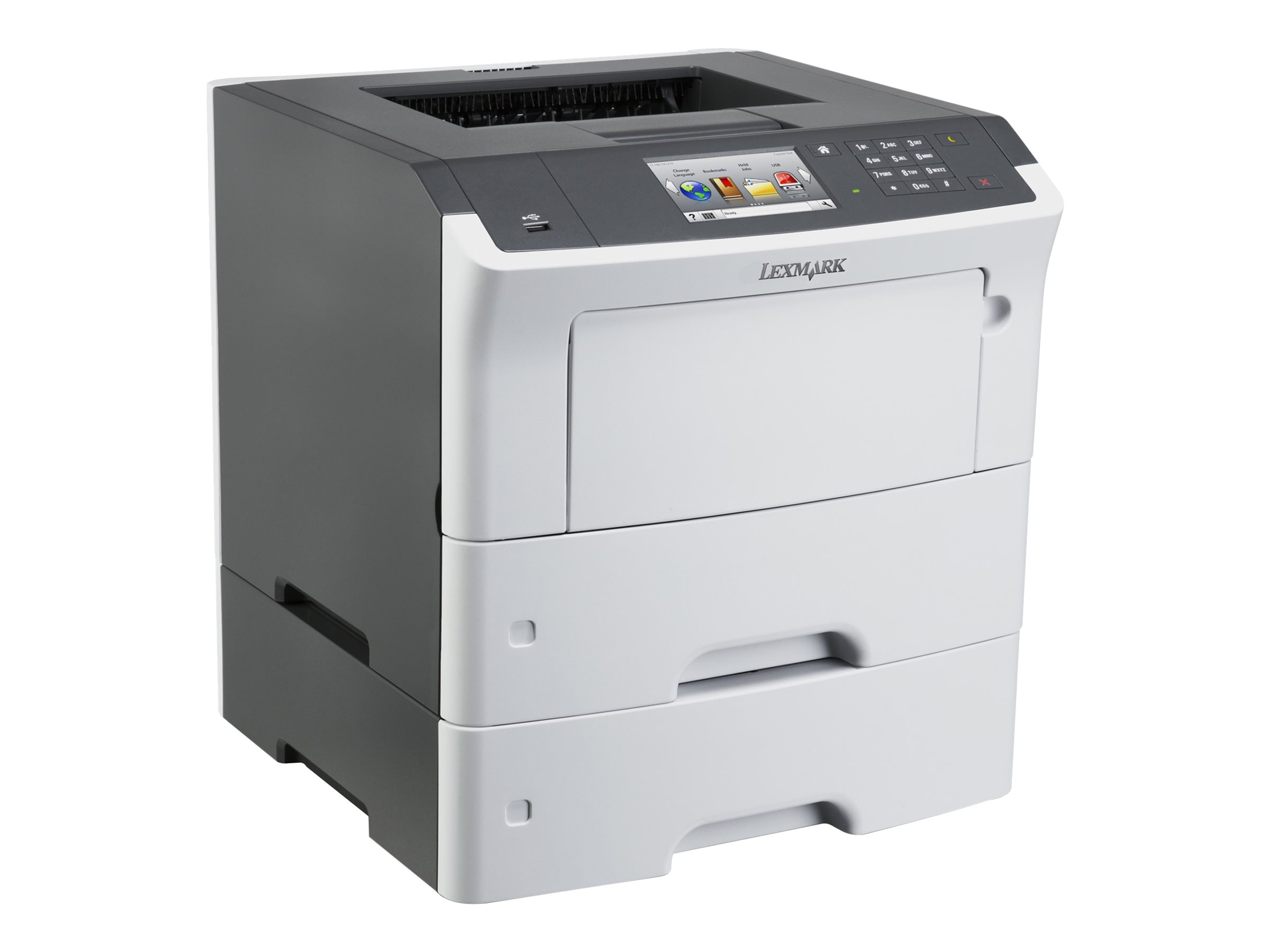 Lexmark MS610dte Monochrome Laser Printer - HV (TAA Compliant), 35ST551