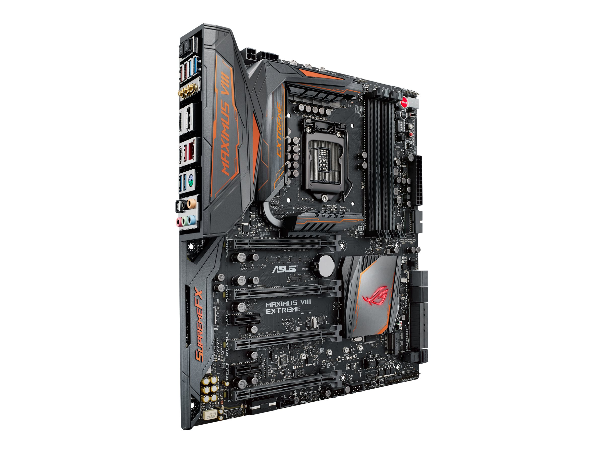 Asus Motherboard, ROG Maximus VIII Extreme Assembly Z170 1151 Core i7 i5 i3 Family Max.64GB DDR4 6xSATA, MAXIMUS VIII EXTREME/ASSEMBLY