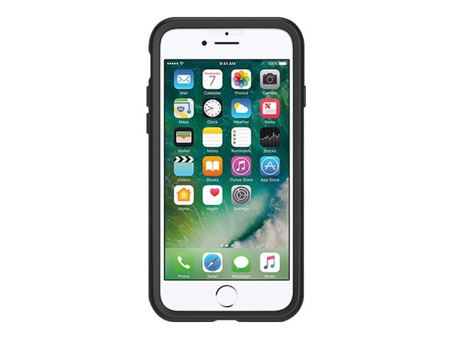 OtterBox Symmetry Case for iPhone 7, Black