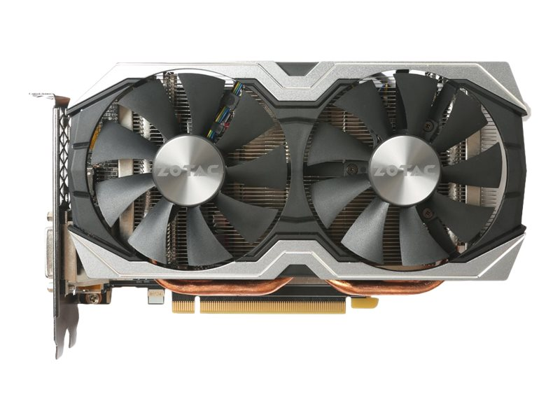 Zotac GeForce GTX 1060 PCIe 3.0 AMP! Edition Graphics Card, 6GB GDDR5, ZT-P10600B-10M