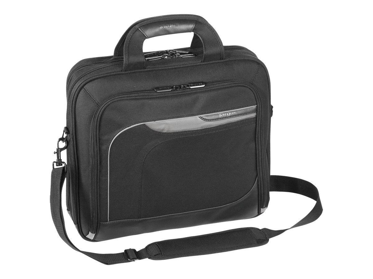 Targus Mobile Elite Topload Case, Fits 15.4 Notebook, Black, TBT039US