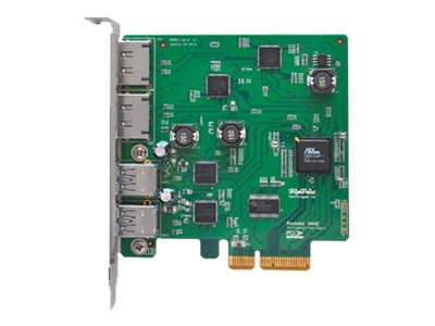 HighPoint 2-Port USB 3.0 eSATA PCIe 2.0 HBA, RU1144E, 16343868, Host Bus Adapters (HBAs)
