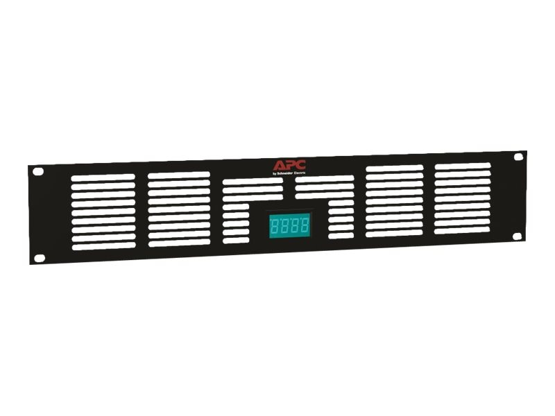 APC NetShelter AV 2U Vent Panel with Temperature Display, ACAC40000, 11951047, Rack Cooling Systems