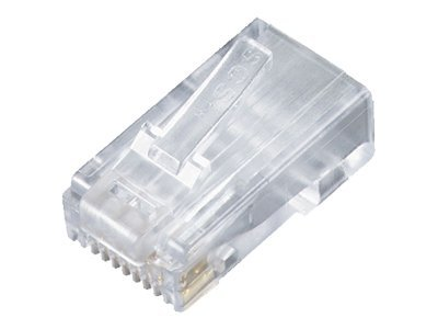 Black Box CAT5e RJ-45 Modular Plugs, 25-Pack