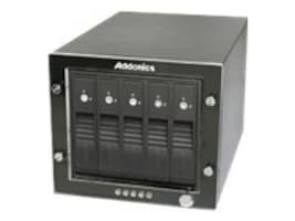 Addonics RAID Tower 3 5-Bay Snap-In, RT3S5HEU3, 13127019, Hard Drive Enclosures - Multiple