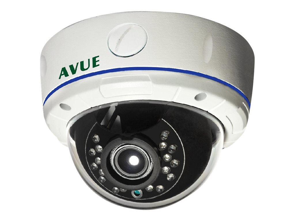 Avue 1000TVL Day Night Vandal Proof IR Dome Camera, AV830PDIR