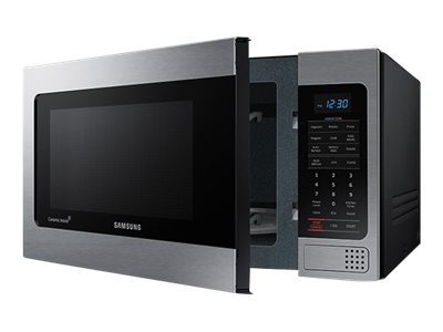Samsung 1.1 cu. ft Counter Top Microwave with Grilling Element, Stainless Steel, MG11H2020CT/AA, 31207354, Home Appliances