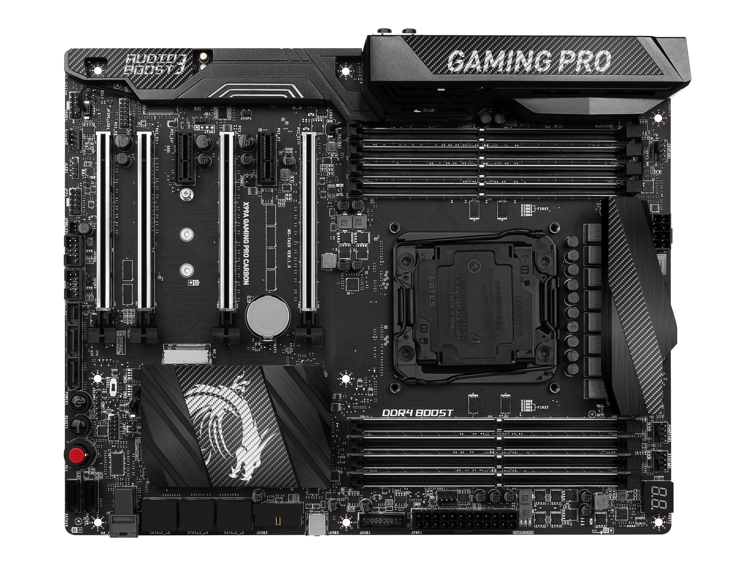 Microstar X99A GAMING PRO CARBON Image 1