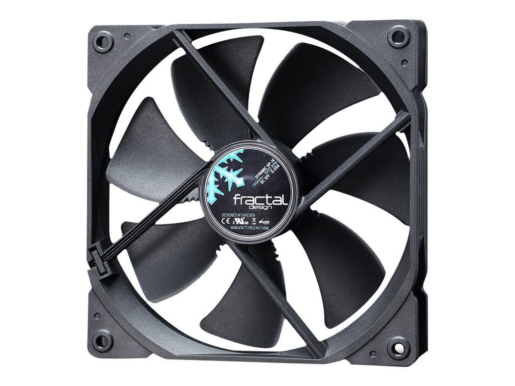 Fractal Design Dynamic GP-14 140mm Fan, Black, FD-FAN-DYN-GP14-BK
