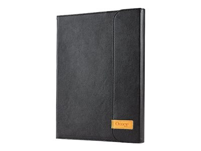 OtterBox Agility Leather Portfolio Bundle for iPad Air, Black
