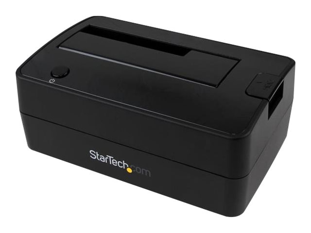 StarTech.com USB 3.1 Gen 2 Single-Bay Dock for 2.5 3.5 SATA Solid State Drive Hard Drive