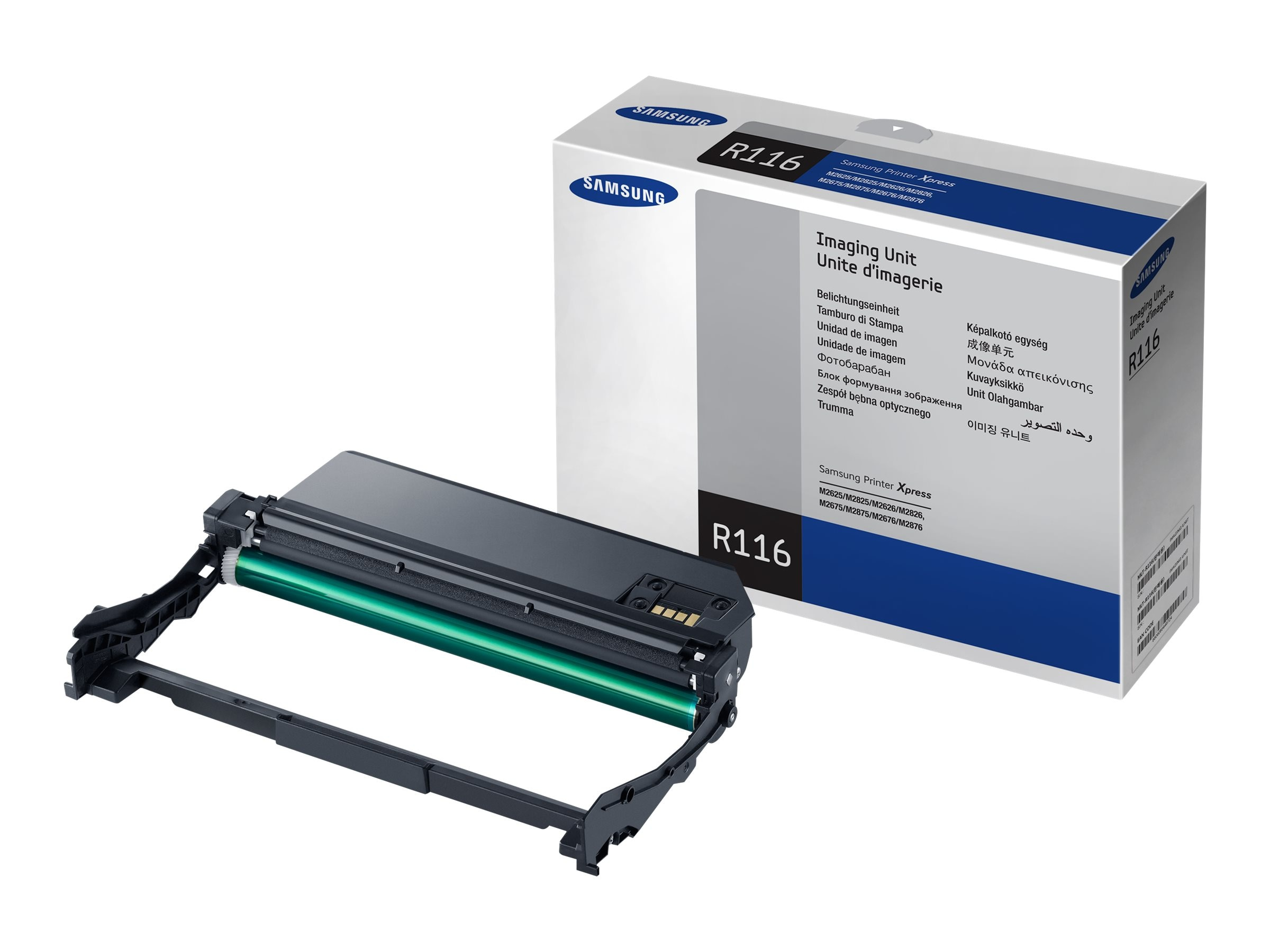 Samsung Imaging Unit for Xpress SL-M2625, SL-2626, SL-2825, SL-2826, SL-M2675, SL-2676, SL-2875, SL-2875, MLT-R116