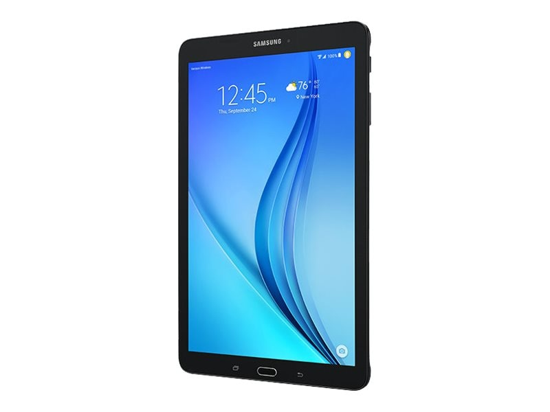 Samsung Galaxy Tab E 9.6 Verizon Tablet Titanium, SM-T567VZKAVZW, 30664932, Tablets