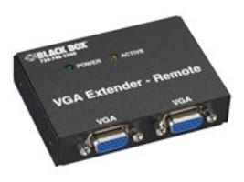 Black Box 2-Port VGA Receiver, AC555A-REM-R2, 32565532, Video Extenders & Splitters