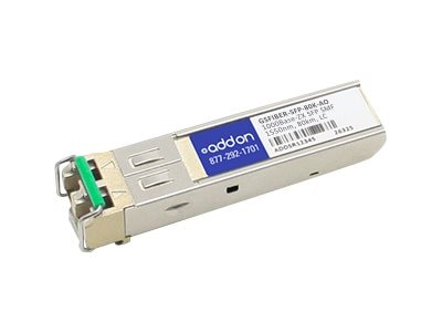 ACP-EP SFP 1-GIG ZX SMF LC 80KM TAA Transceiver (SixNet GSFIBER-SFP-80K Compatible)
