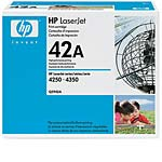 HP 42A (Q5942A) Black Original LaserJet Toner Cartridges for HP LaserJet 4240, 4250 & 4350 (3-Pack), Q5942A/Q5942A/Q5942A, 5912771, Toner and Imaging Components