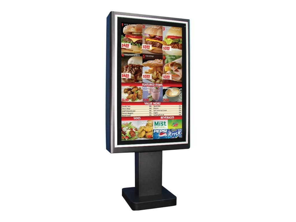 Planar 47 LC4751-MP LED-LCD Open Frame Outdoor Display, Black with Media Player