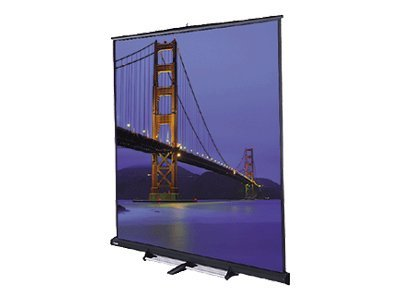 Da-Lite Floor Model C Projection Screen, Matte White, 8' x 8'