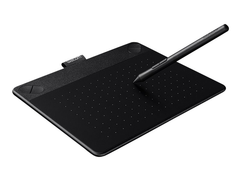 Wacom Intuos Comic Pen and Touch Tablet, Small, Black, CTH490CK