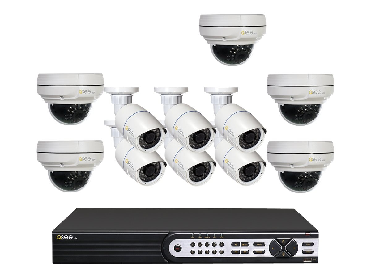 Digital Peripheral Solutions 16-Channel HD System with (12) 4MP IP Cameras