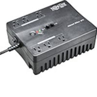 Tripp Lite 350VA UPS Compact Low Profile Standby (6) Outlet with USB Port, INTERNET350U, 5939957, Battery Backup/UPS