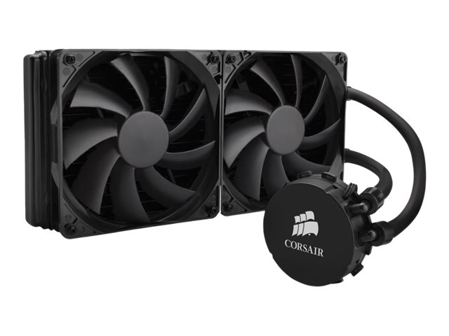 Corsair Hydro Series H110 280mm Extreme Performance Liquid CPU Cooler, CW-9060014-WW