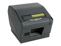 Star Micronics TSP847IIE3Rx Thermal Friction Ethernet Printer - Gray w  Cutter, Tear Bar, Power Supply & Paper Lock