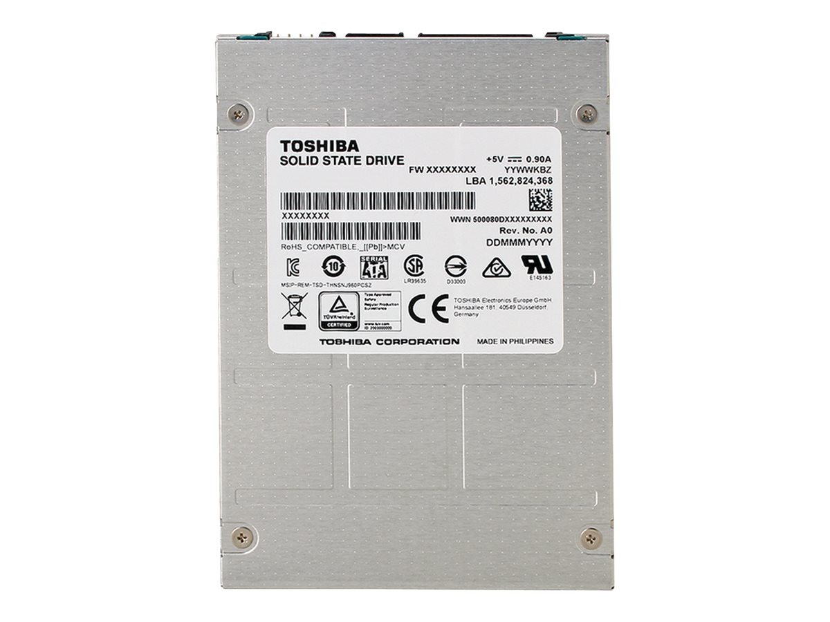 Toshiba 200GB Hawk M3 SATA eMLC 2.5 Internal Solid State Drive, THNSNJ200PCSZ, 31502118, Solid State Drives - Internal