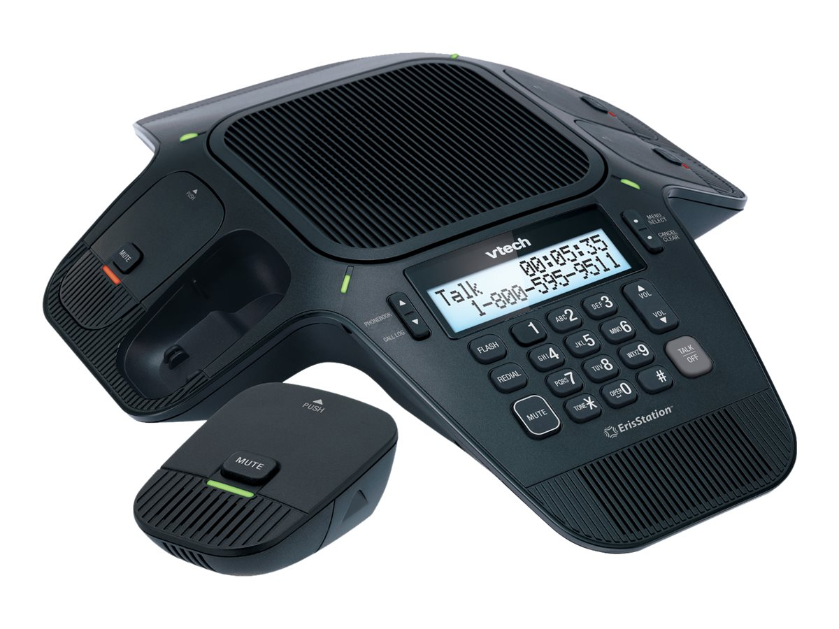 Vtech ErisStation™ Wireless Conference Phone with Orbitlink Technology, VCS704