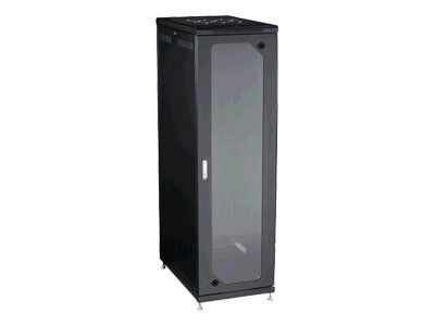 Black Box Select Plus Split Rear Door Cabinet 42U Mesh Front, Extra Deep