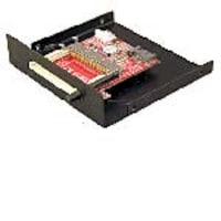 Addonics SATA to CompactFlash Adapter with Black 3.5 Bay Frame, ADSACFB, 5959616, PC Card/Flash Memory Readers