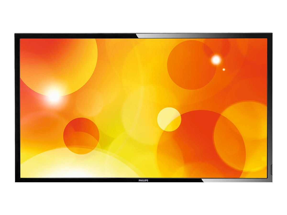 Philips 55 Q-Line Display Full HD LED-LCD Display, Black