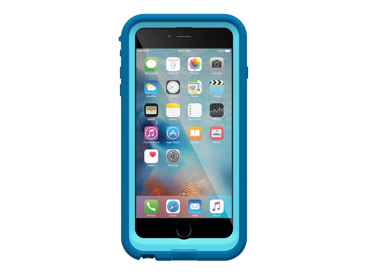 Lifeproof fre Power Case for iPhone 6 Plus 6S Plus, Base Jump Blue