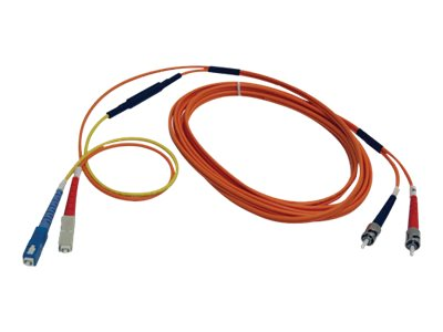 Tripp Lite ST-SC Fiber Optic Mode Conditioning Patch Cable, 3m