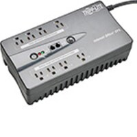 Tripp Lite 550VA UPS Compact Low Profile Standby (8) Outlet with USB Port, INTERNET550U, 5975341, Battery Backup/UPS