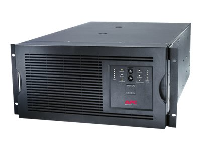 APC Smart-UPS 5000VA 4000W 208V 5U Rackmount Tower UPS (2) L6-20R, (2) L6-30R, SUA5000RMT5U, 8063065, Battery Backup/UPS