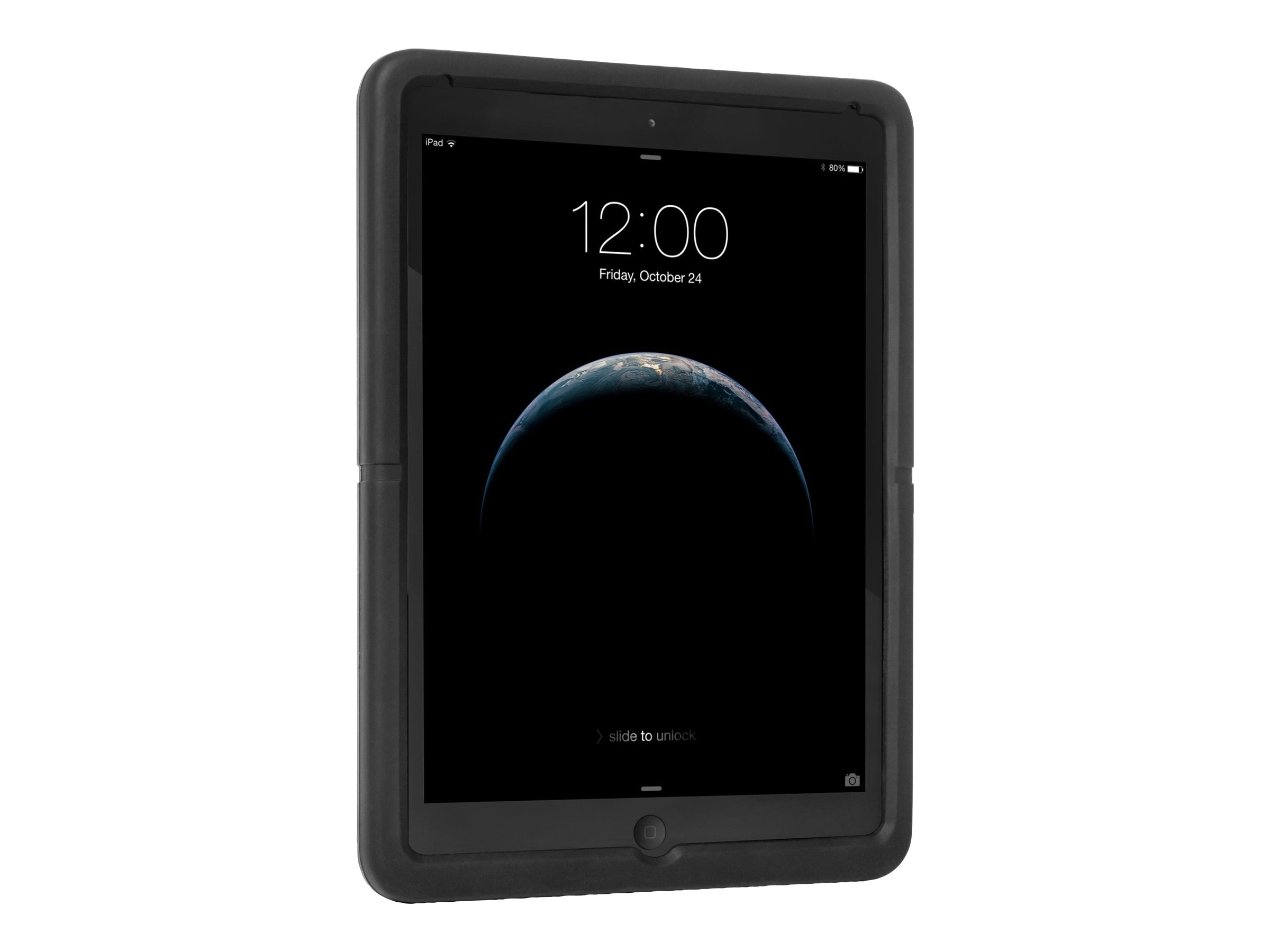Kensington SecureBack Rugged Enclosure for iPad Air iPad Air 2, Black, K67738WW, 26004958, Carrying Cases - Tablets & eReaders