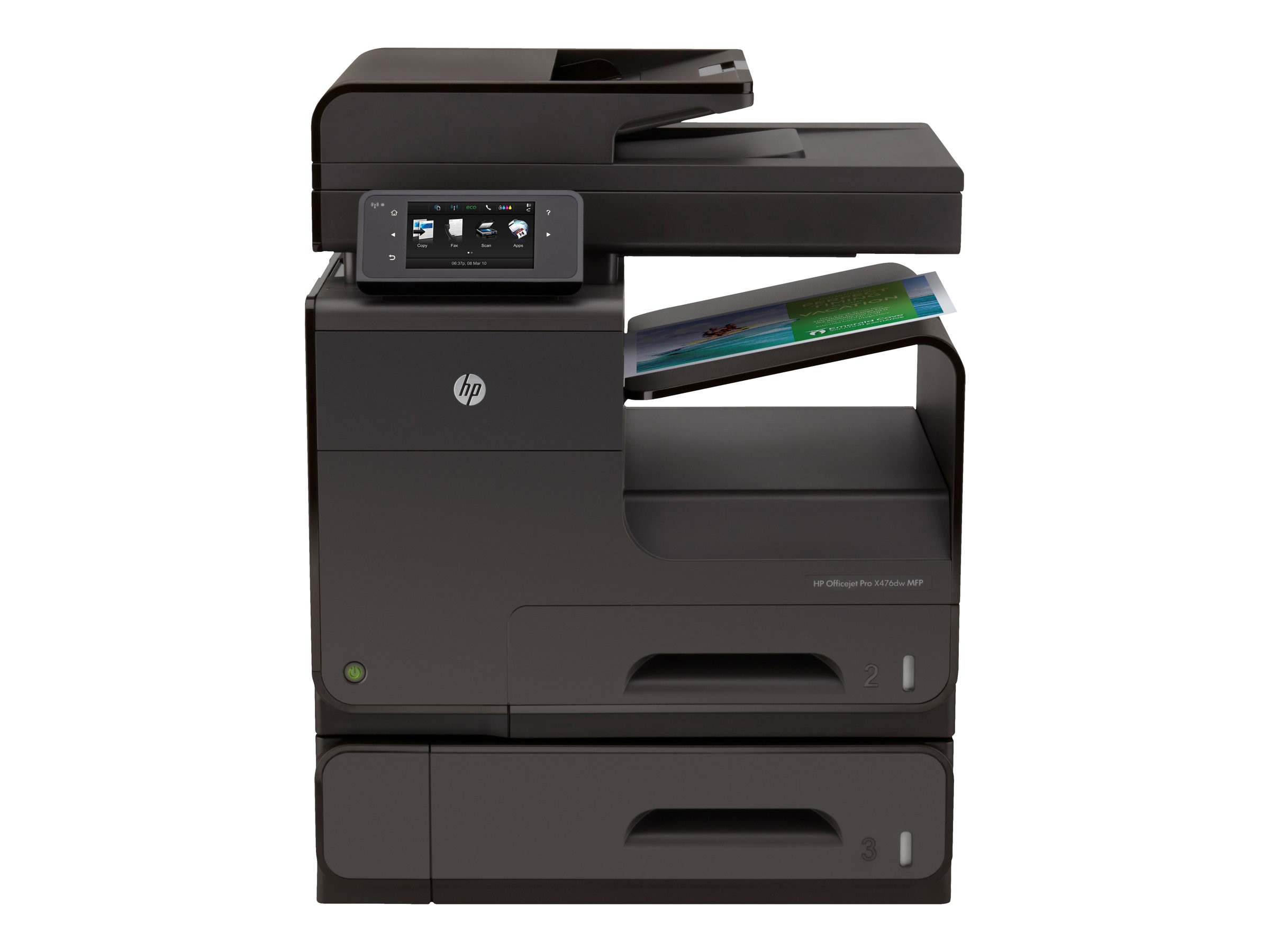 HP Officejet Pro X Series X 476dw Color MFP $699 - $200 instant rebate = $499 Ends 2 29 16, CN461A#B1H