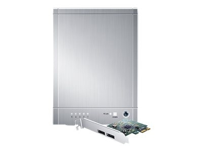 Sans Digital TowerRAID TR5M+ 5-Bay eSATA Enclosure - Silver, ST-SAN-TR5M+, 17351991, Hard Drive Enclosures - Multiple